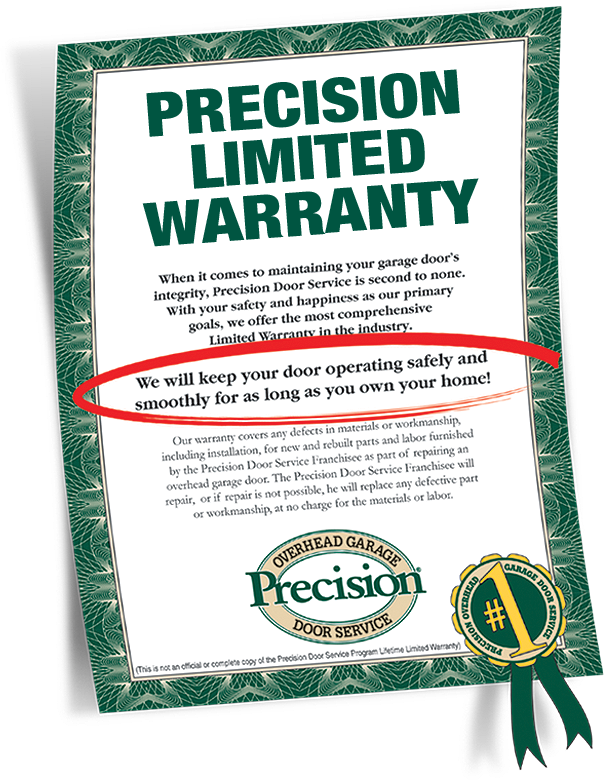 Garage Door Repair Warranty By Precision Door Service Of Akron
